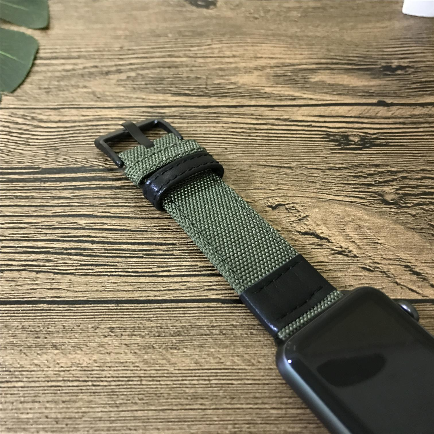 iWatch 2/3 strap casual canvas nylon strap