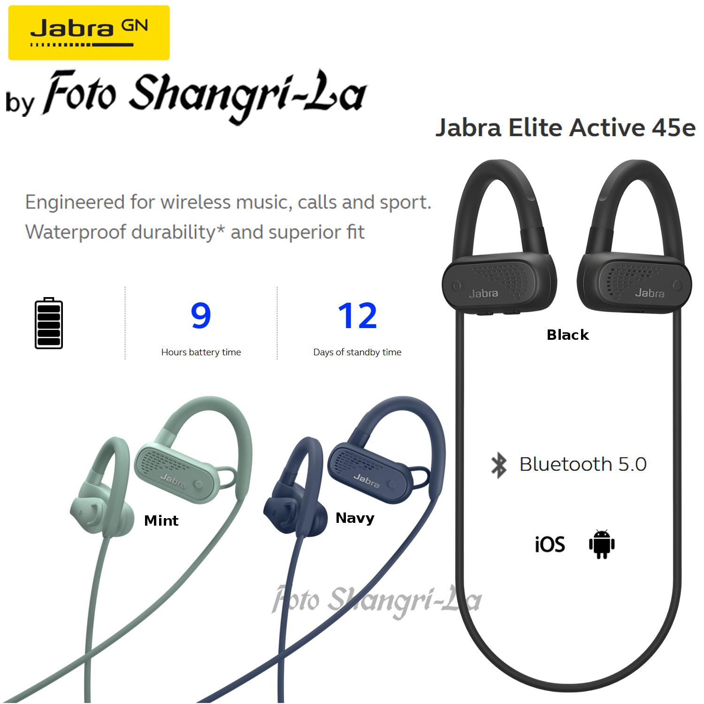 c1e019c251e Jabra Elite Active 45e Waterproof Wireless In-Ear Headphone for Sports  Built I. ‹ ›