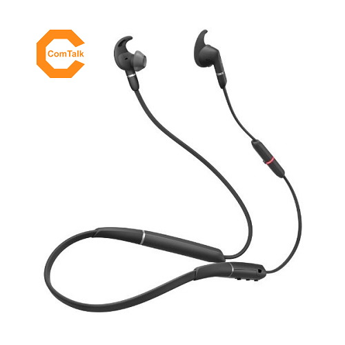 Jabra Evolve 65e MS Wireless Earbud Stereo Earset
