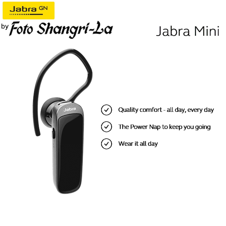 Jabra Mini Voice Mono Bluetooth Headsets Wireless Headphone Earphone In Ear