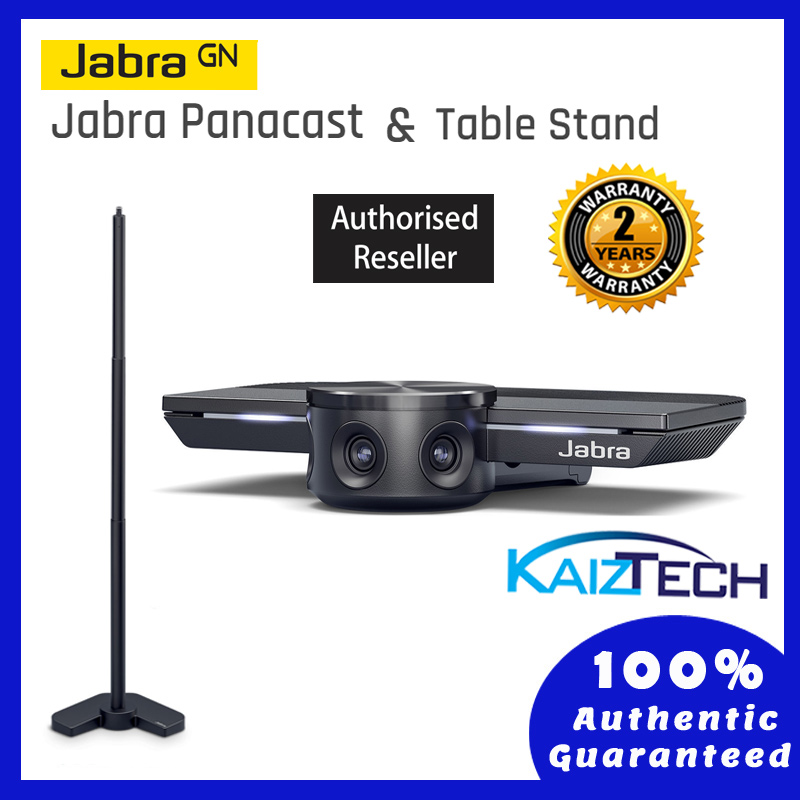 Jabra Panacast 4K Video Conferencing Camera Webcam + Table Stand