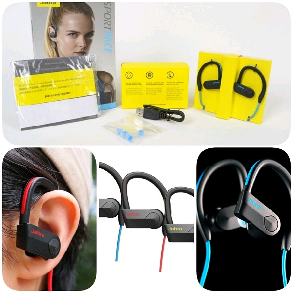 Jabra Sport Pace Wireless Bluetooth Stereo Headset (2 Years Warranty)