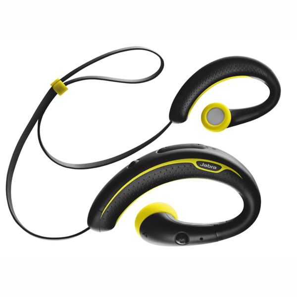 Jabra Sport Wireless Plus Bluetooth Headset (Black + Yellow) 905f6a625a83