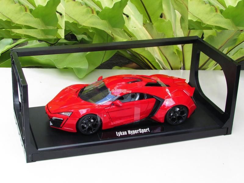 Jada 1/18 Diecast Car Lykan HyperSport RED (Fast & Furious)