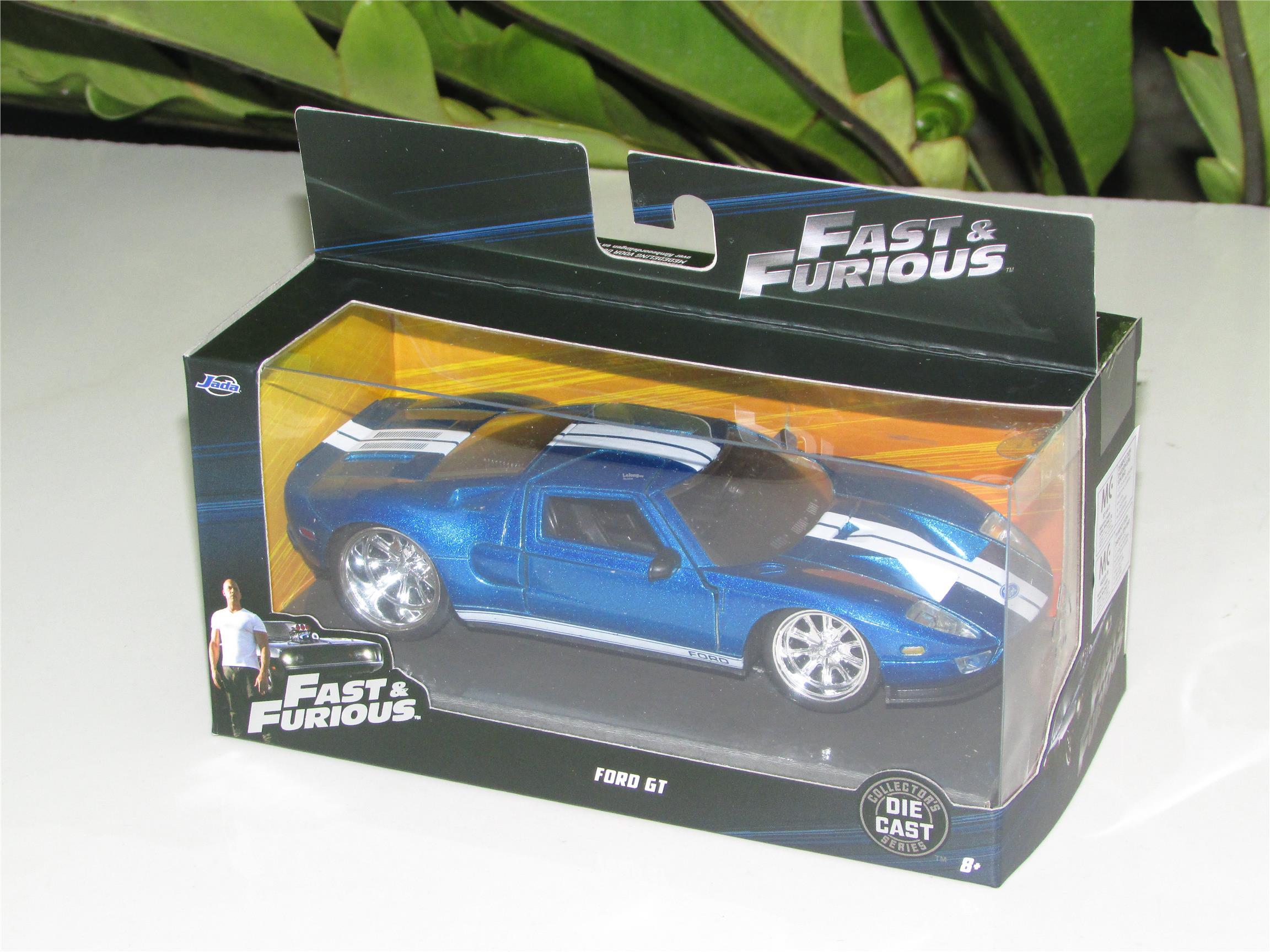 Jada   Ford Gt  Fast Furious Blue