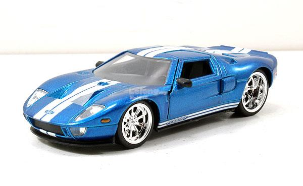 Jada   Ford Gt  Fast Furious Blue