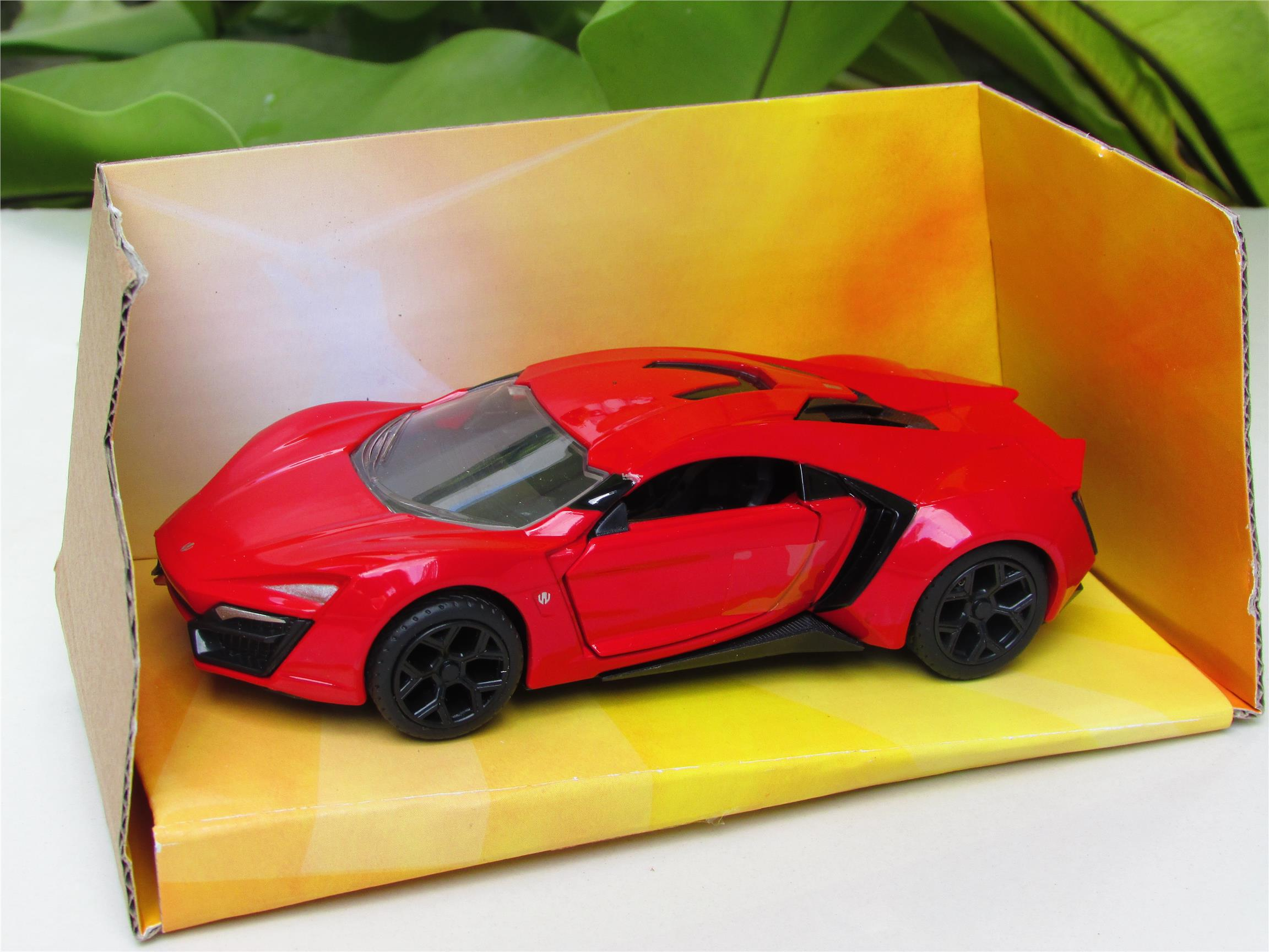 Jada 1/32 Lykan HyperSport (Fast & Furious) (Red)