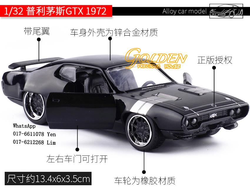 Fast And Furious 8 Cars Gtx