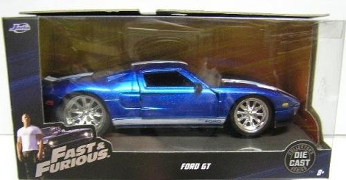 Jada Cast Fast Furious Ford Gt
