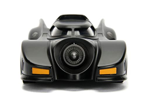 Jada Toys DC Comics Batman 1989 Batmobile DIE-CAST Car Model Kit, 1: 24 Scale