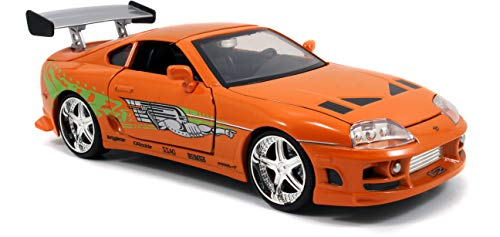 ~ Jada Toys Fast  & Furious Movie 1 Brian's Toyota Supra diecast collectible t