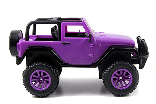 ~ Jada Toys GIRLMAZING Big Foot Jeep R/C Vehicle (1:16 Scale), Purple
