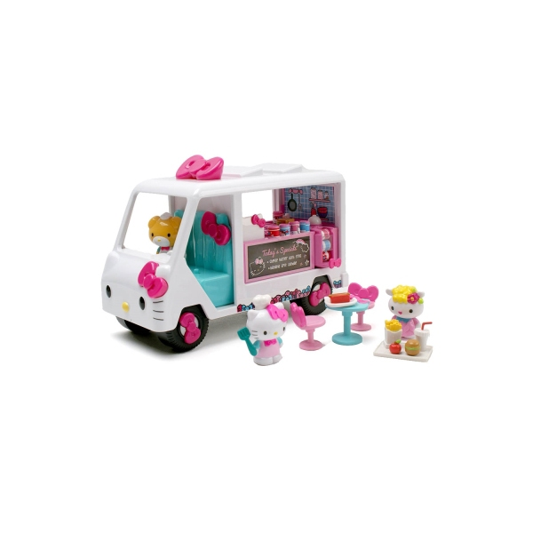 Hello Kitty Toy Food : Jada toys hello kitty food truck di end  am