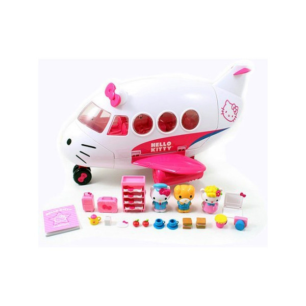 Hello Kitty Toys Set : Jada toys hello kitty jet plane pla end  pm