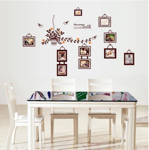 JadeGourd Photo Living Room The Song Of Birds Wall Sticker W6057