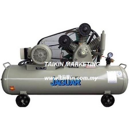 Jaguar Air Compressor 5.5HP 8Bar 160L Tank RT80 Horizontal