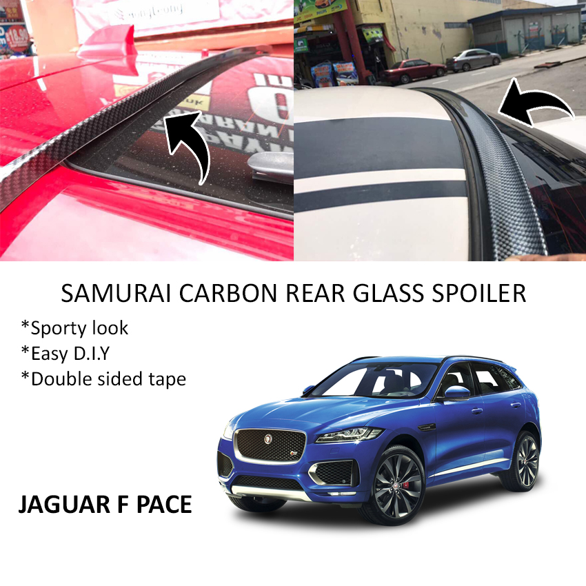 2020 jaguar f pace. Jaguar F Pace Samurai Carbon Rear Top Windscreen OEM Glass Spoiler (4. 2020