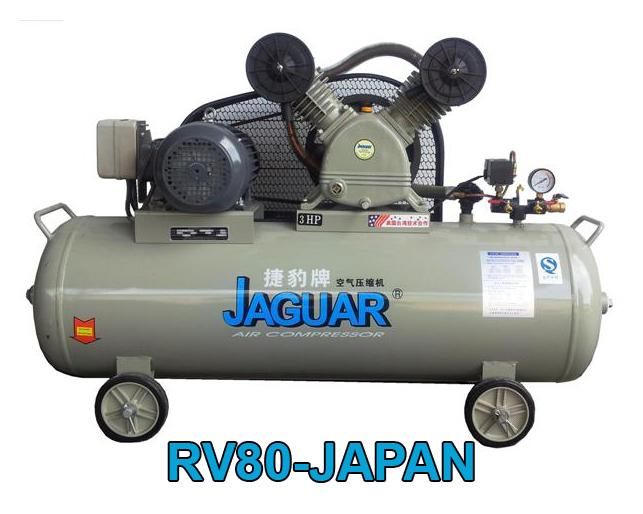 Spray Painting With A Compressor Part - 34: JAGUAR RV80-JAPAN 3HP 8BAR U0027SPRAY PAINTu0027 AIR COMPRESSOR