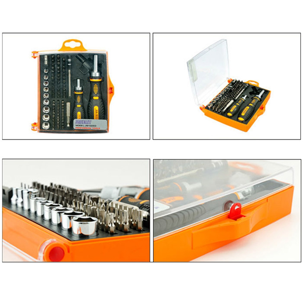 JAKEMY JM-6108 79 IN 1 SCREWDRIVER SET MULTI-FUNCTION TOOL