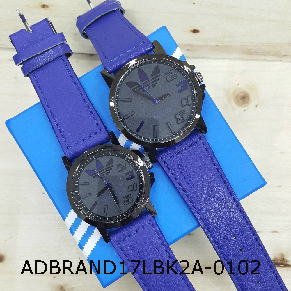 Jam ADIDAS Leather 3D Black Dial RYGN Watch