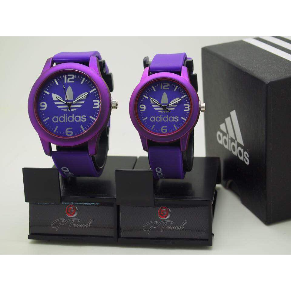 Jam Couple Adidas PURPLE 2018 Trending
