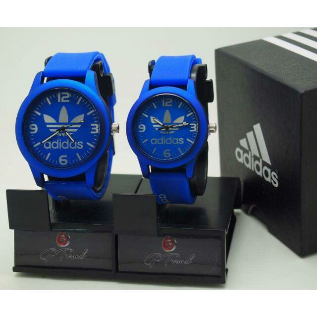 Jam Tangan Adidas Couple (Blue)