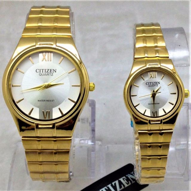 Jam Tangan Besi Citizen Set Couple