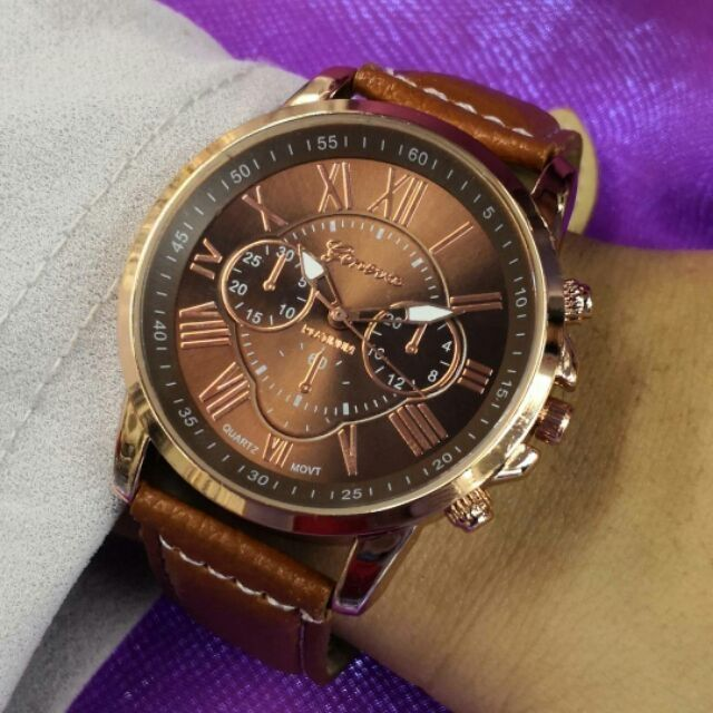 Jam tangan Geneva ( women and man watches)