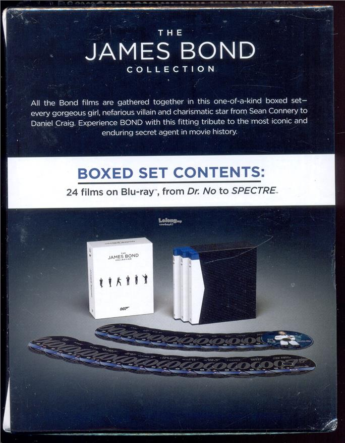 The James Bond Collection - New Blu-Ray