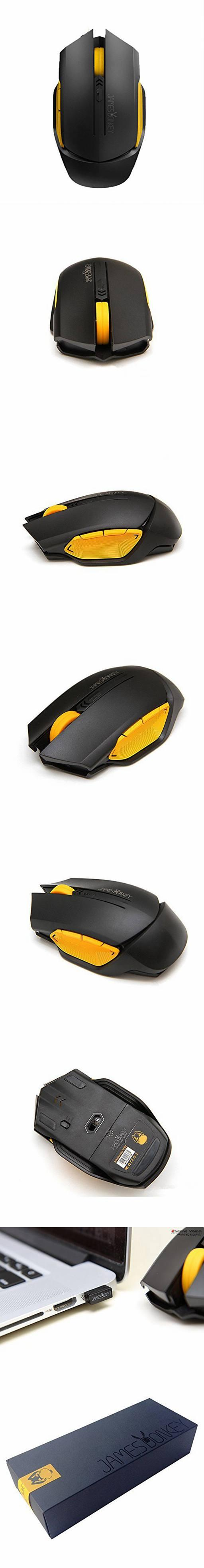 James Donkey 102 Wireless Gaming Mouse Black Daftar Update Harga 1600dpi For Gamer With 6 Button