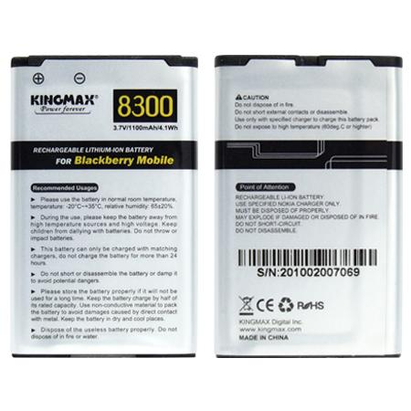 JAPAN CELL~Kingmax Blackberry Original Battery 7130 8700 Battery