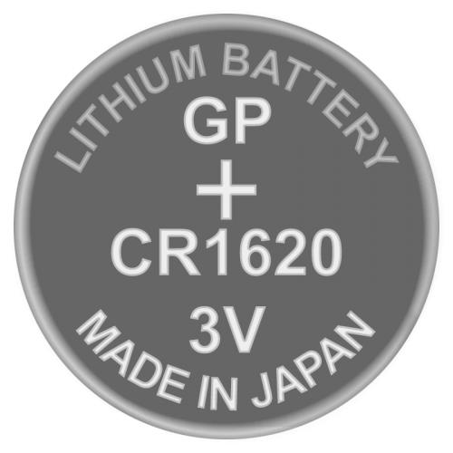 [Made In Japan] GP CR1620 Lithium Coin Battery (1pc)