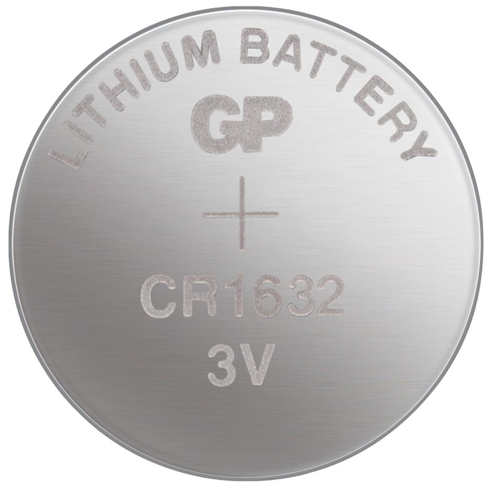 [Made In Japan] GP CR1632 Lithium Coin Battery (5pcs)
