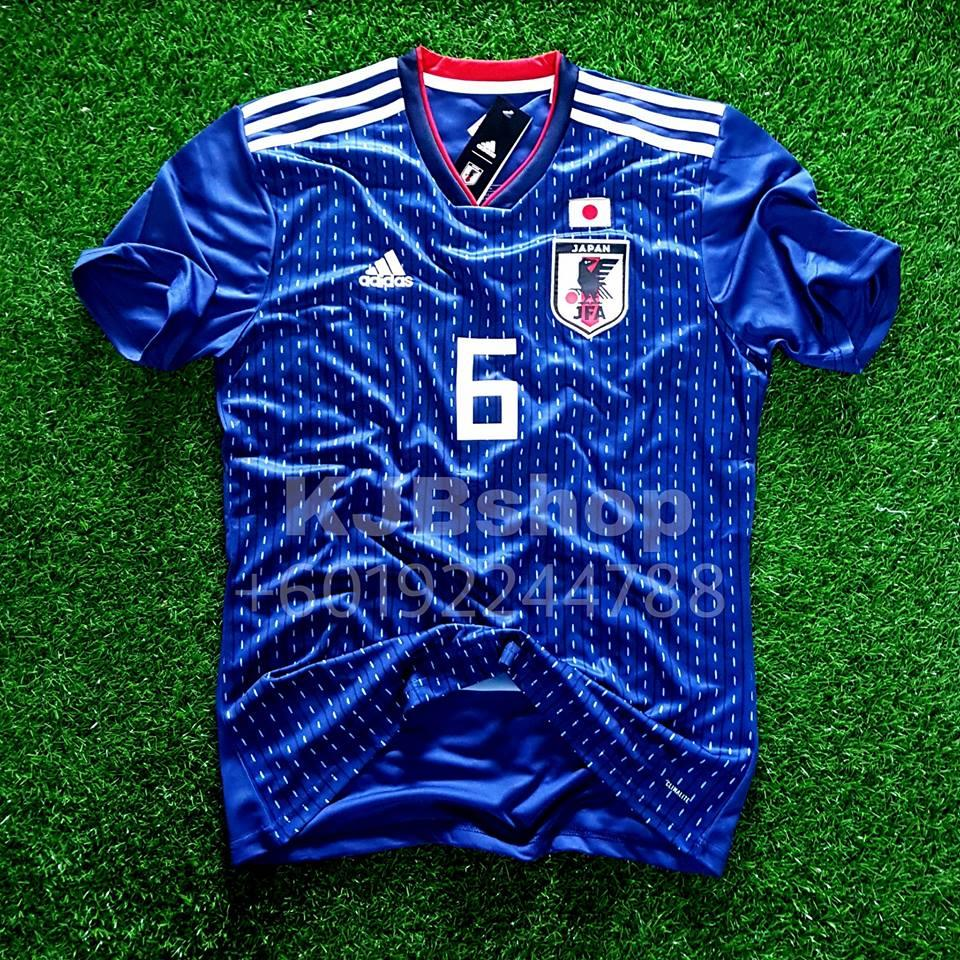 JAPAN HOME JERSEY   JERSI WORLD CUP (end 3 18 2018 4 15 PM) 3645db2e3