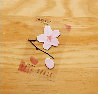 Japan Korea N Sticky Note Post It Note Cherry Blossom Sakura Memo