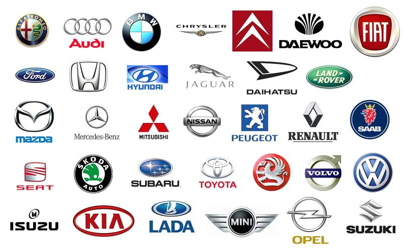 Japanese car companies logos