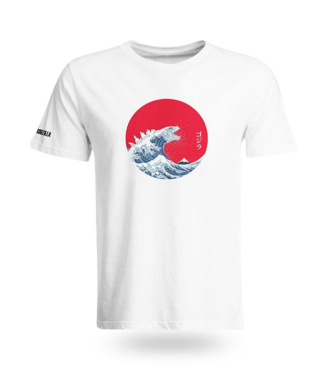 19edaf267 Japanese GODZILLA Wave T-shirt (end 12/13/2019 11:10 AM)