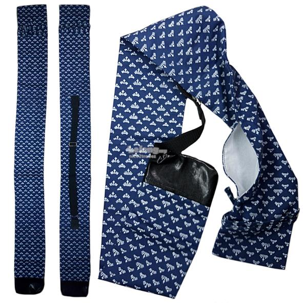 Japanese Iris Flower Pattern Shinia, Iaito, Katana Sword Bag