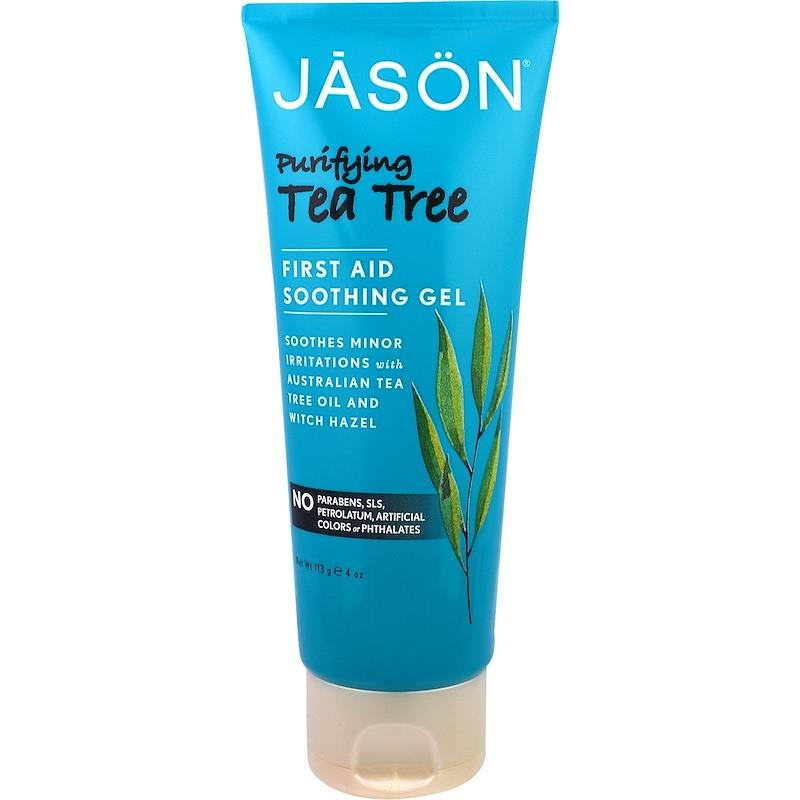 Jason Natural, First Aid Soothing Gel, Purifying Tea Tree (113 g)