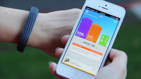 JAWBONE UP24 FITNESS TRACKER SMALL - PERSIMMON