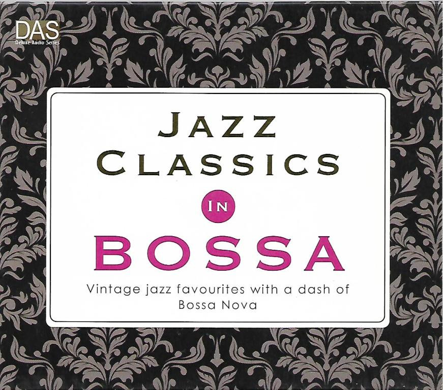 Jazz Classics In Bossa 2-Disc Deluxe Audio Series CD Bossa Nova Music