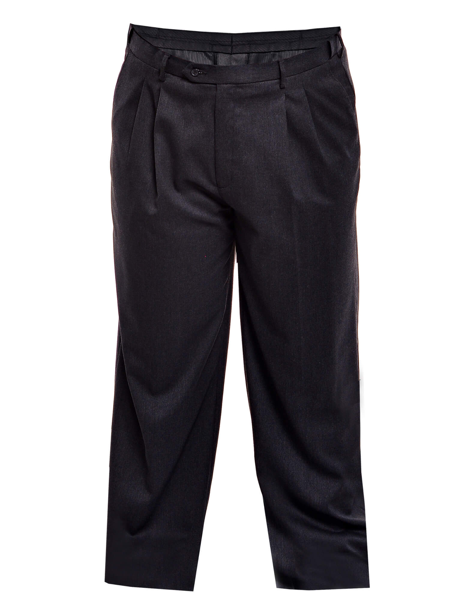 Jazz & Co Men Plus Size Man Formal Slack Pants in Gray