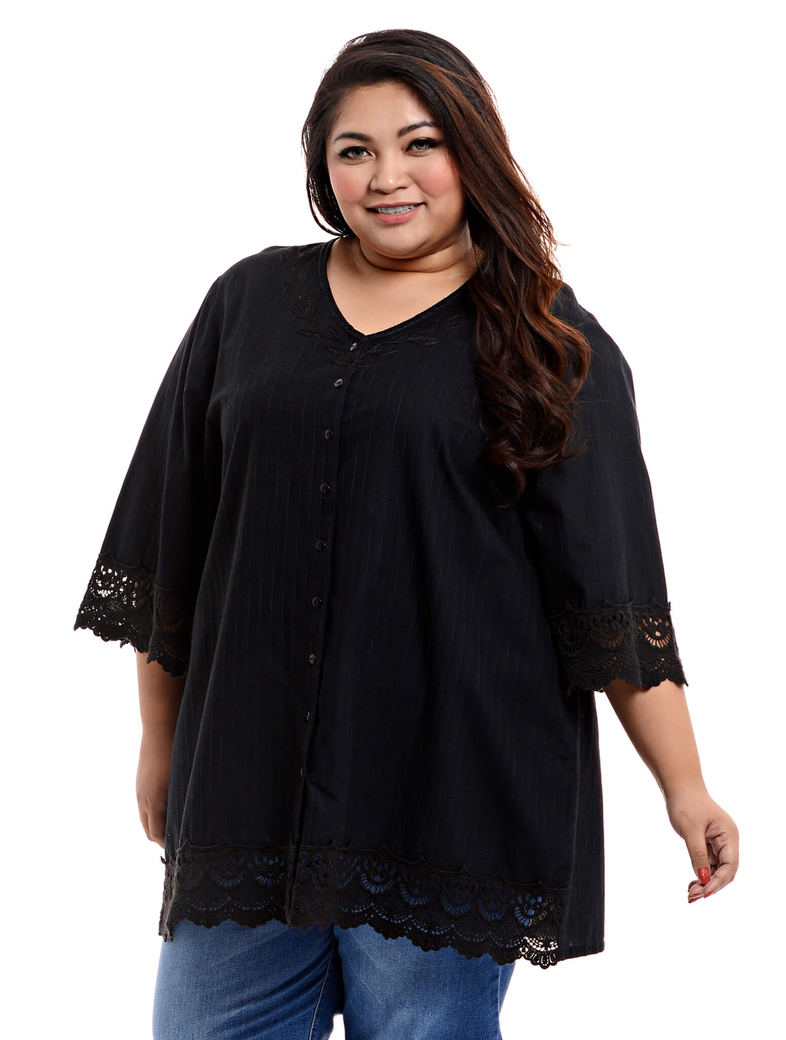 542680dfd92 Jazz & Co Women Plus Size Embroidery (end 6/1/2019 5:51 PM)