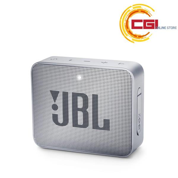 *GO2GRY JBL GO 2 Portable Bluetooth Waterproof Speaker Grey