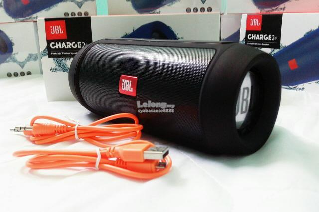 JBL Charge 2+ Portable Bluetooth Speaker Black