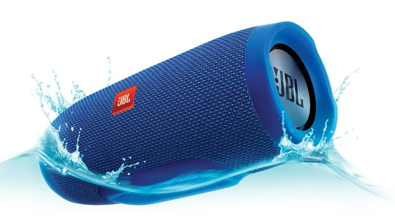 JBL CHARGE 3 6000MAH BLUETOOTH PORTABLE SPEAKER (BLUE)