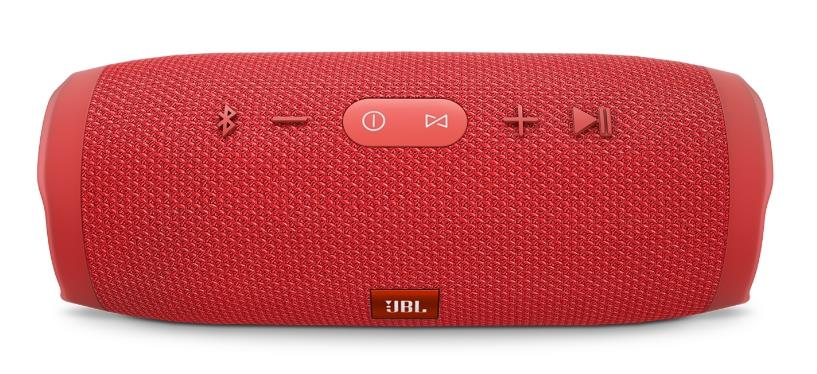 JBL CHARGE 3 6000MAH BLUETOOTH PORTABLE SPEAKER (RED)