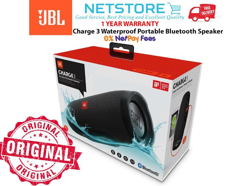 f6a502f8e87 JBL Charge 3 Waterproof Portable Blu (end 1 22 2020 1 15 PM)