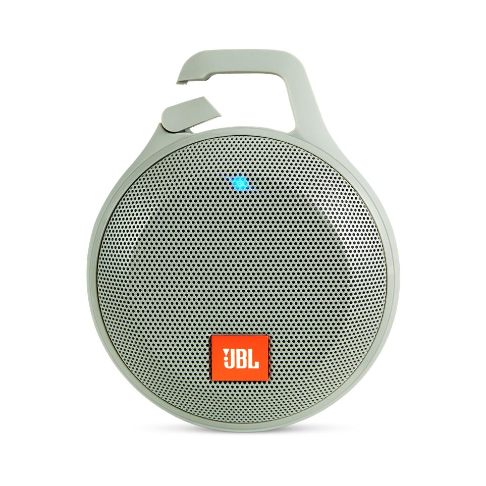 JBL Clip+ Splash-proof Portable Bluetooth Speaker (Grey)