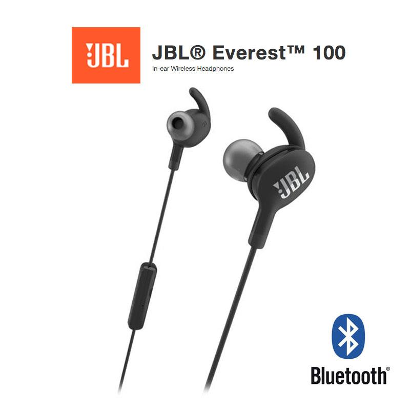 JBL Everest 100 Bluetooth In-Ear Headphones Built-In Microphones